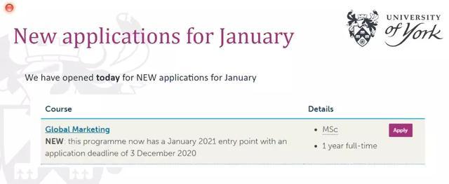 机会难得!不少英国大学大幅增开2021年春季开学的专业!